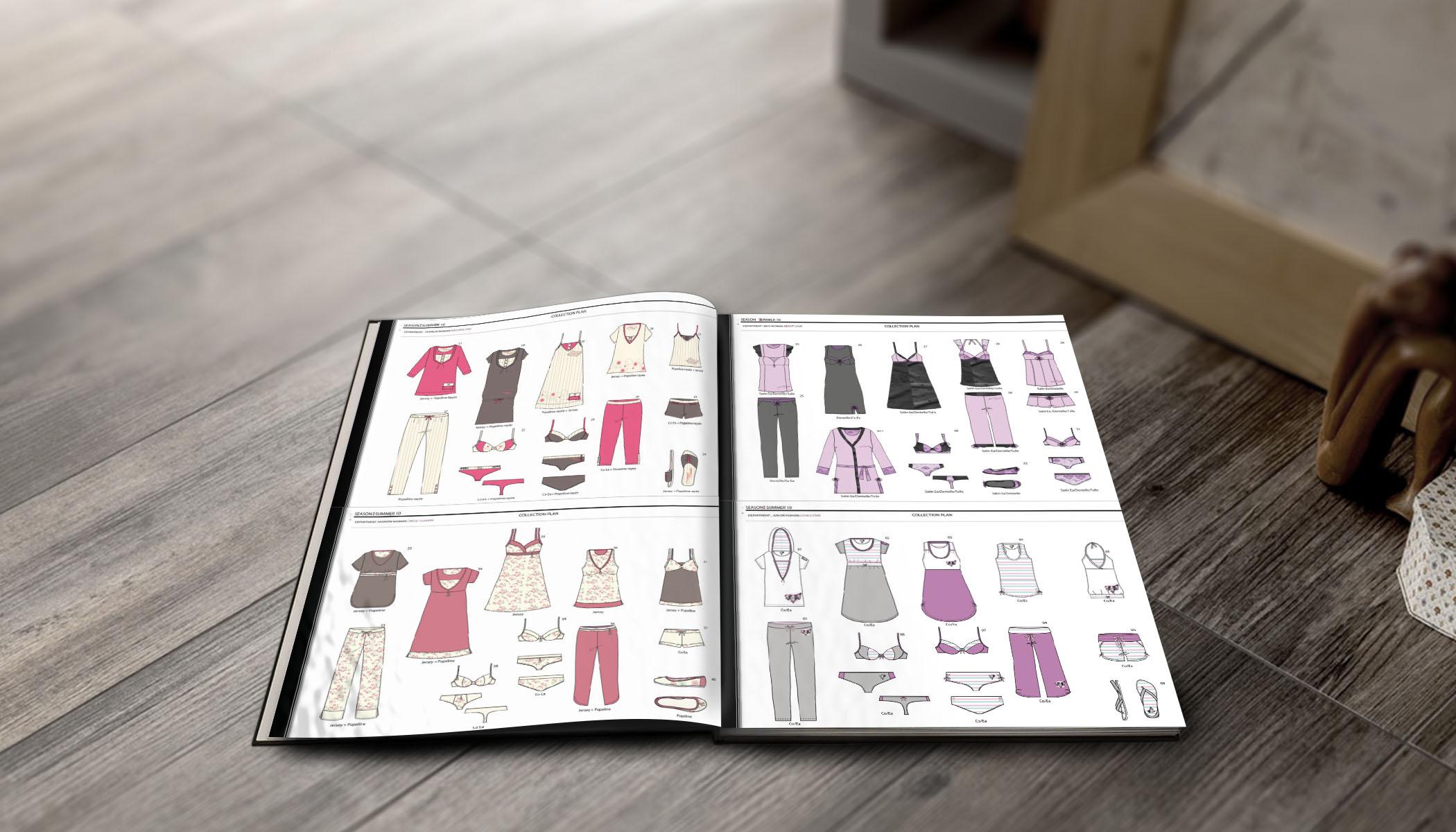 Brochure Lingerie