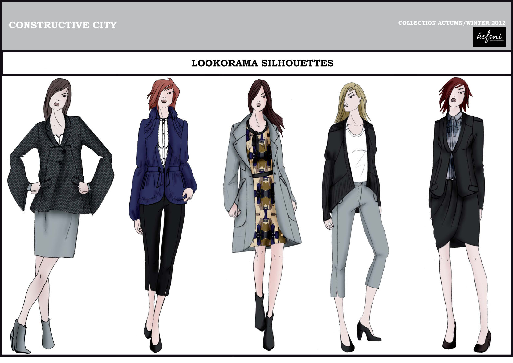 Lookorama constructive city silhouettes.ai