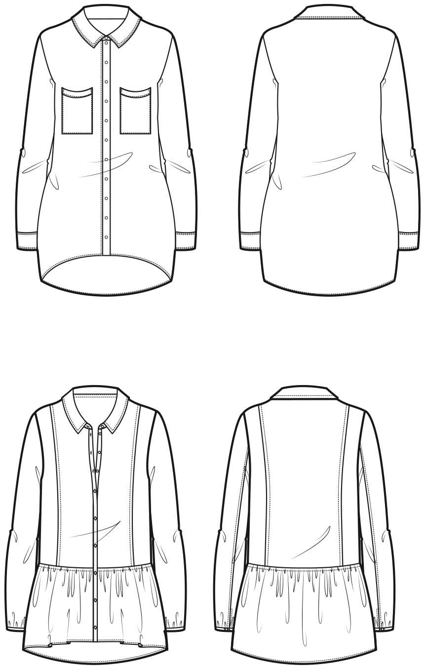 chemise prop